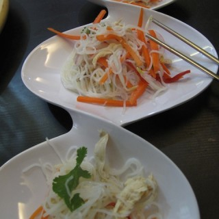 chicken and glass noodle