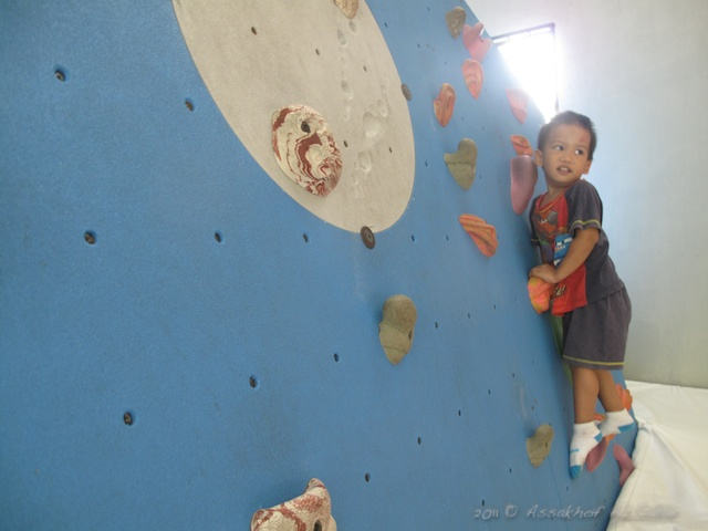 Wall Climbing At Putrajaya Wall Climbing Hall
