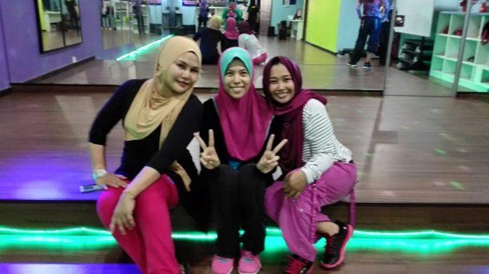 Bersama Zin Haslina di She's Fit