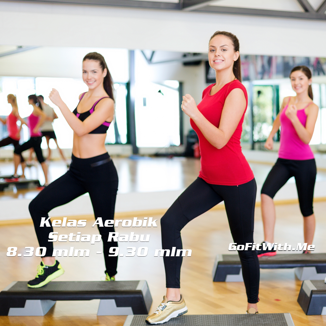Practical Fitness Wellness: GoFitWith.Me Aerobic For Ladies Every Monday