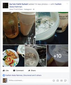 Perkongsian Makanan Sihat Di Bulan Ramadhan
