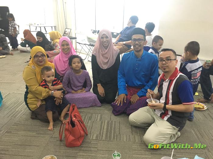 Raya 2017 - Kunjungan dari Kawan Sekolah Menengah - Mini Reunion