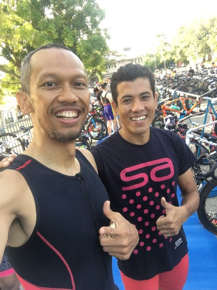 Sharom, National Triathlon Athlete