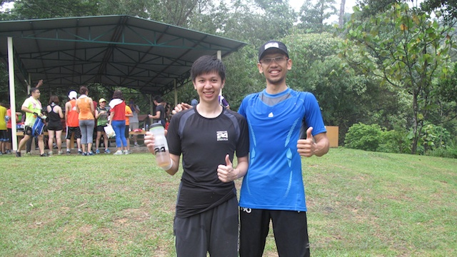 Photo with Coach Kenny after Bootcamp at Kota Damansara Community Forest