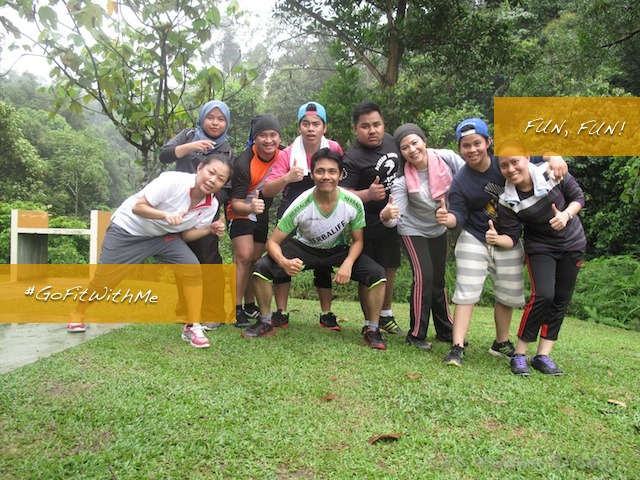 Group photo after Bootcamp at Kota Damansara Community Forest