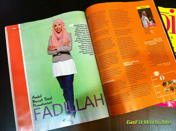 Coach Fadillah's story on how she loss 22kg