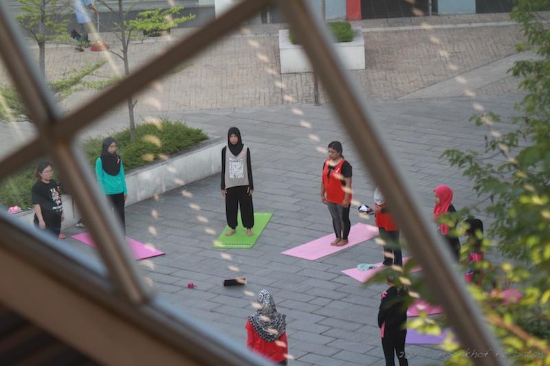Breathing Exercise at The Atmosphere Seri Kembangan
